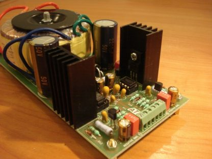 Modified Sulzer regulator - v.2