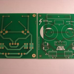 PCB for DC trap/filter/blocker for toroidal transformers