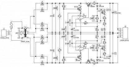 Schematic of modified Sulzer regulator