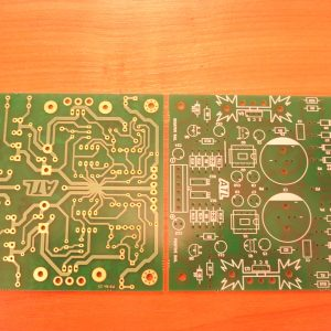 Modified Sulzer regulator - mini version PCB