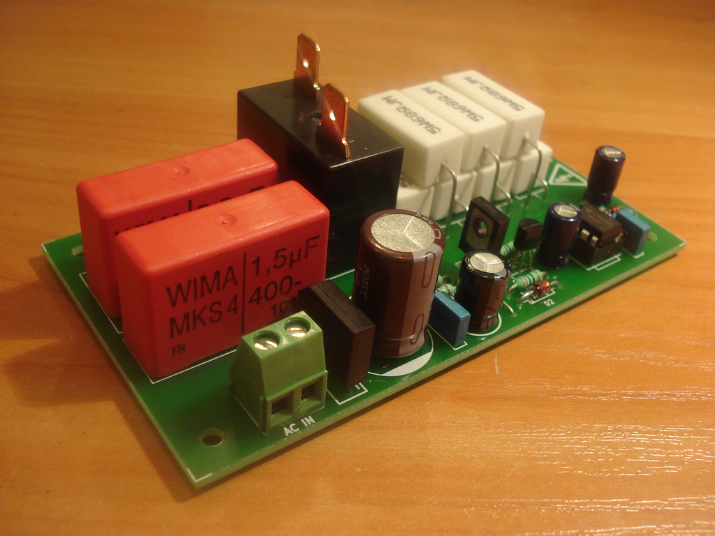 Soft Start Inrush Current Limiter For Toroidal Transformers An Add On Your Psu 120v Version