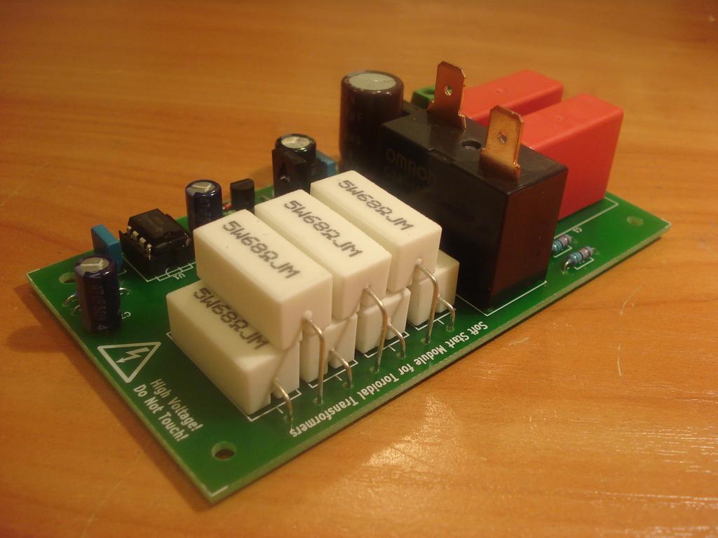 Details about Soft-start, inrush current limiter for toroidal transformers  - assembled, tested