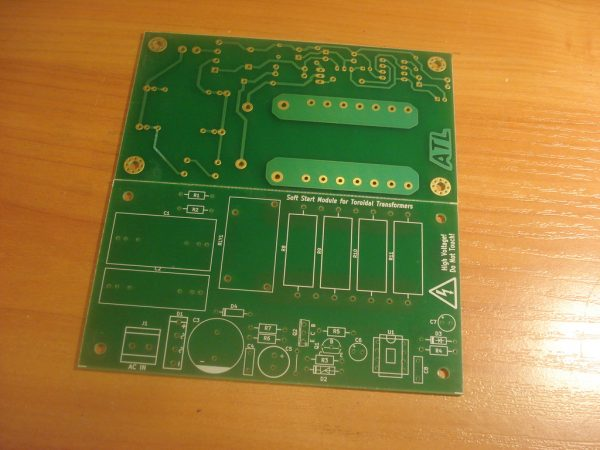 Soft Start (Inrush Current Limiter) PCB