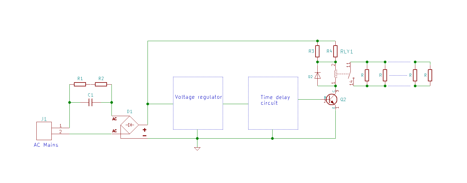 Soft Start Inrush Current Limiter For Toroidal Transformers Home Variac Wiring Diagrampng Schematic