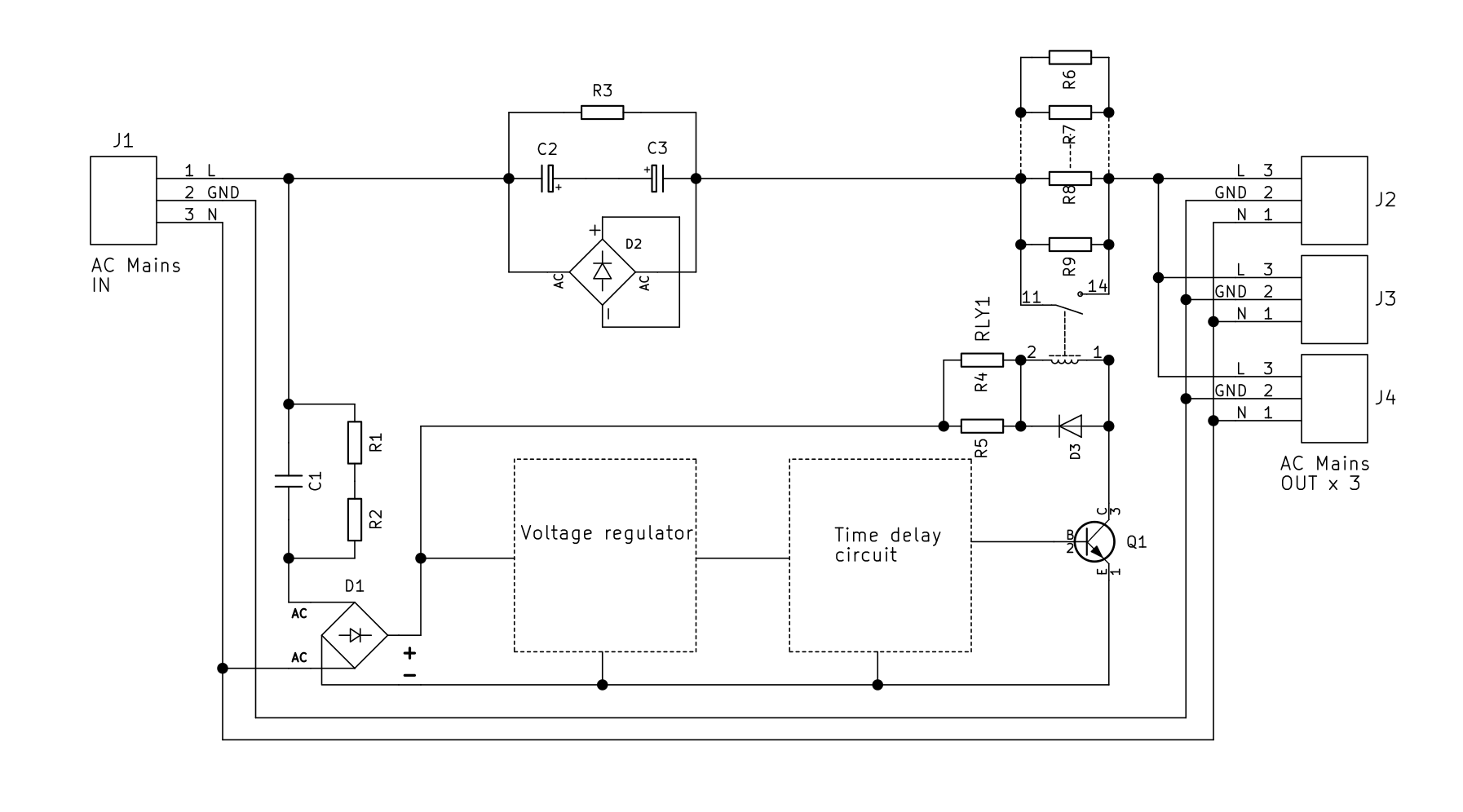 Combined module soft start inrush current limiter dc blocker combined pooptronica Choice Image