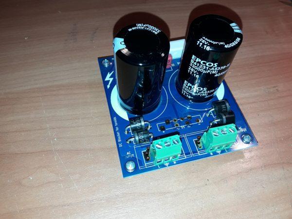 ATL Audio DC Blocker v. 2.2 DO-201 Diodes