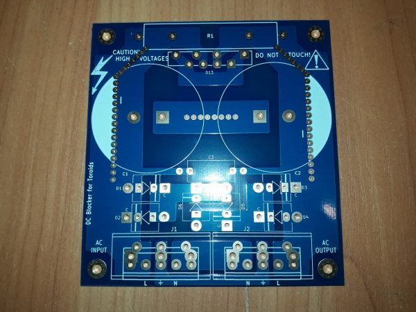 DC Blocker - v.3 PCB